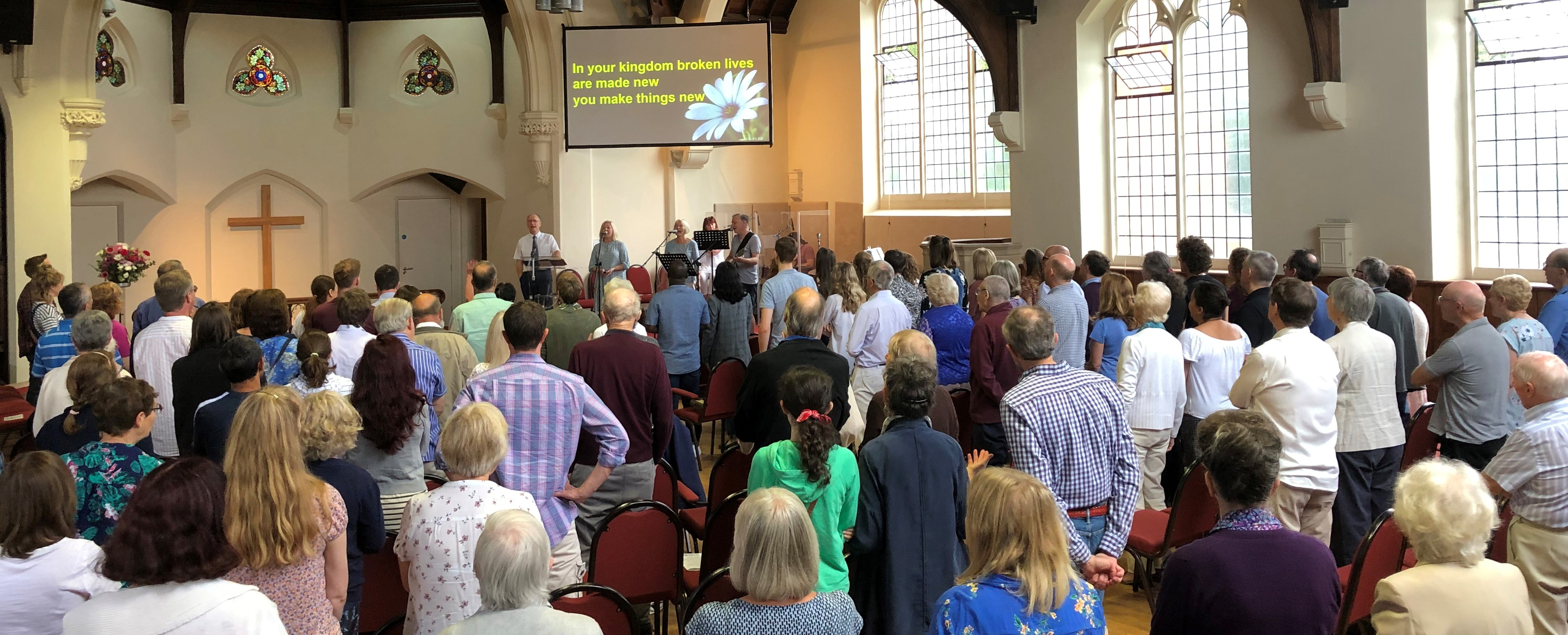 Welcome*to Histon Baptist Church - New to Church?